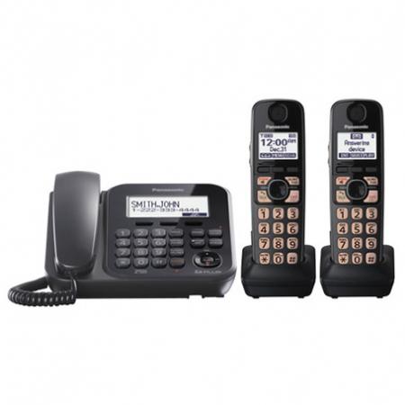 تلفن بی سیم و با سیم پاناسونیک مدل KX-TG4772B