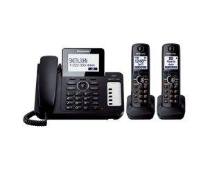 تلفن بی سیم و با سیم پاناسونیک مدل KX-TG6672B