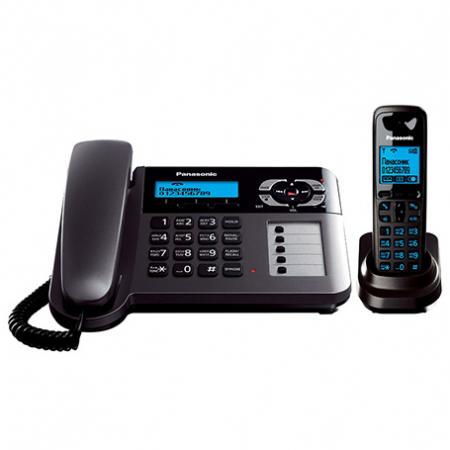 تلفن بی سیم و با سیم پاناسونیک مدل KX-TG6458