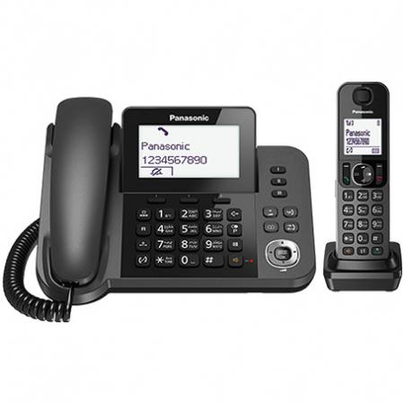 تلفن بی سیم و با سیم پاناسونیک مدل KX-TGF310