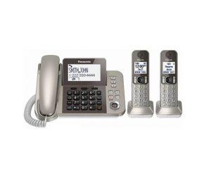 تلفن بی سیم و با سیم پاناسونیک مدل KX-TGF352