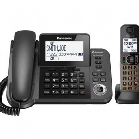 تلفن بی سیم و با سیم پاناسونیک مدل KX-TGF380