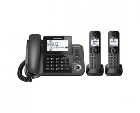 تلفن بی سیم و با سیم پاناسونیک مدل KX-TGF382