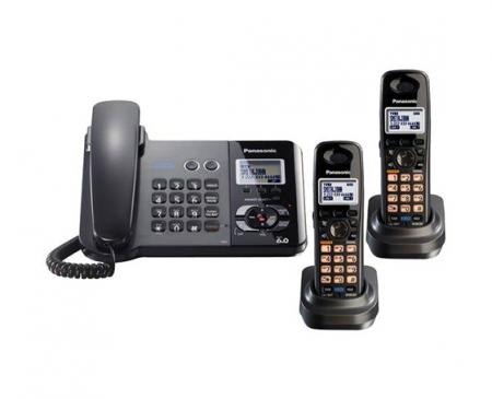 تلفن بی سیم و با سیم پاناسونیک مدل KX-TG9392