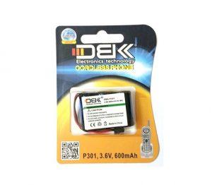 باتری تلفن بی سیم DBK مدل P 301
